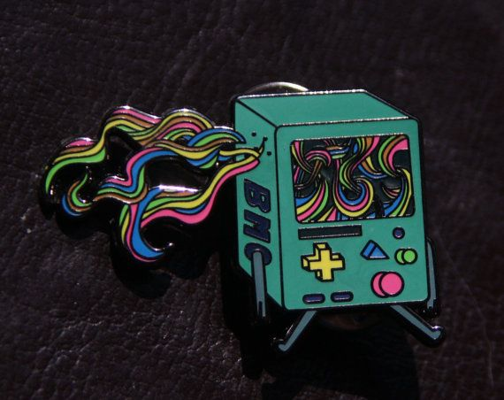 Hey, I found this really awesome Etsy listing at https://www.etsy.com/listing/236670093/adventure-time-beautiful-game-pin