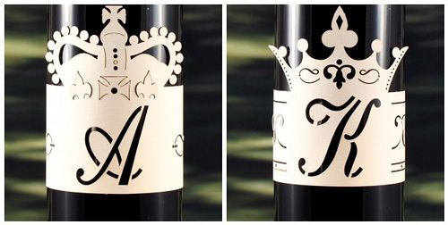Monogram Wraps. Fits anything cylindrical. On the cheap, too!