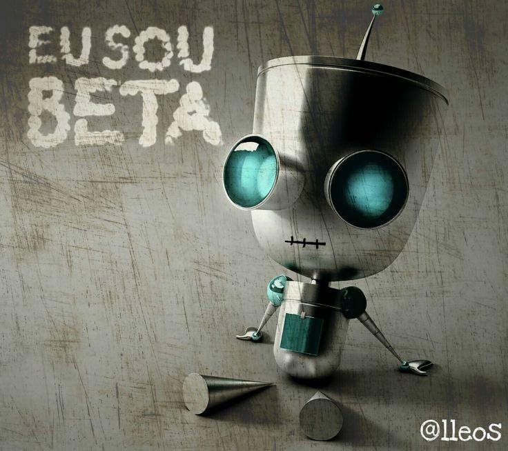 #TimBeta #@lleos #MascoteTimBeta #MeDivulgue
