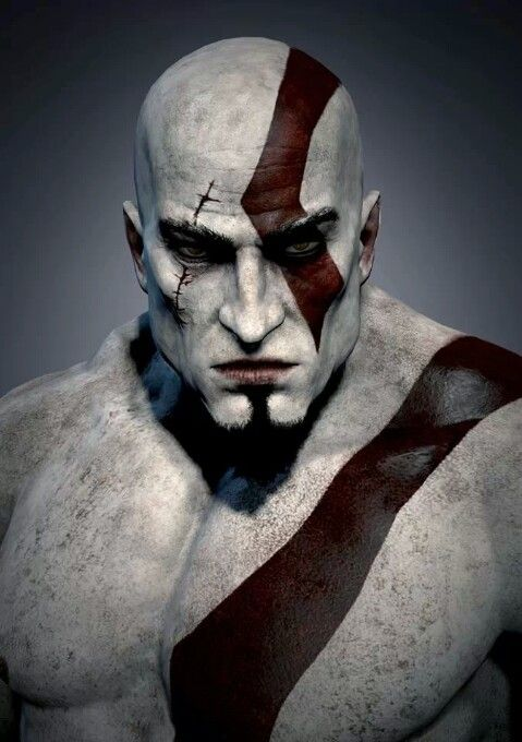 Kratos dios de la guerra God of war!