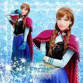 Online Shop frozen costume princess anna costume adult anna cosplay Fancy Dress halloween costumes for women fantasy women custom|Aliexpress Mobile