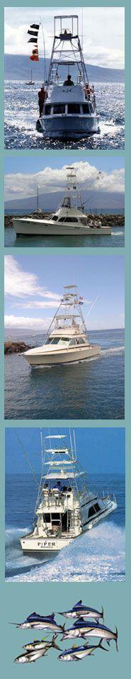 Maui Deep Sea Fishing Boats