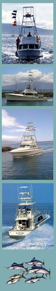 Maui Deep Sea Fishing Boats
