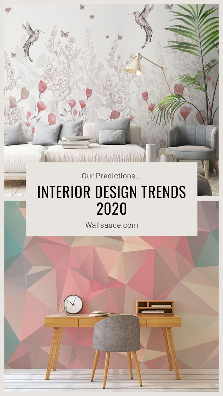 Interior Design Trends 2020 Our Predictions With Images Wall