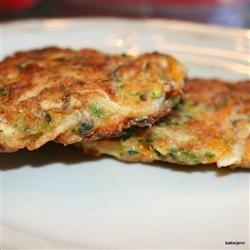 Vegetable and Feta Latkes | Healthy Recipes | Pinterest