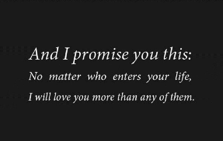 I Promise You This