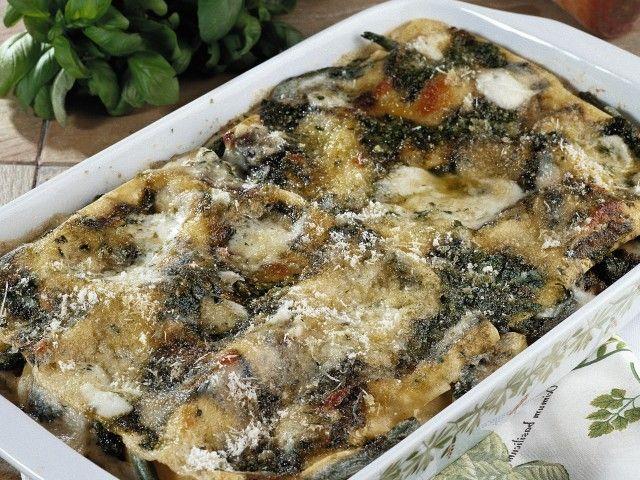 Lasagne al pesto 1