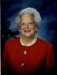 Barbara Bush Facts - American First Ladies