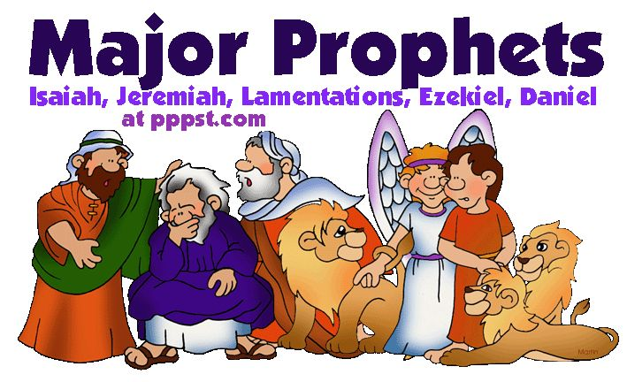 Free Powerpoints for Church - The Major Prophets in the Bible - Bible Study Old Testament FREE Presentations in PowerPoint format, Free Interactives and Games