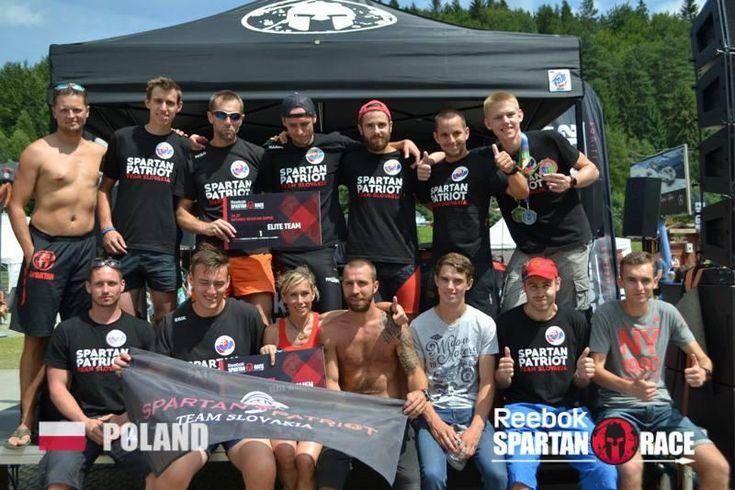 SPARTAN PATRIOT Team dosiahol po neskutočnom výkone jednotlivcov historické prvé miesto v kategórii ELITE Team!