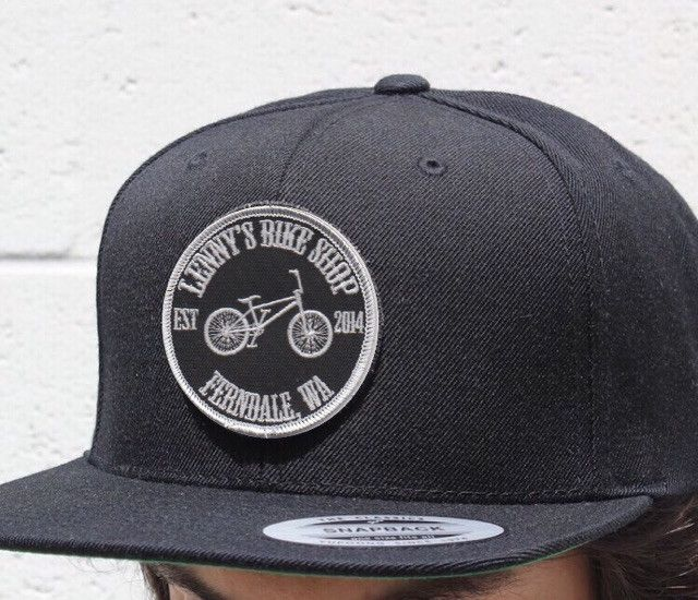 Lenny's Bike Shop Flat Bill Hat PRE-ORDER!!!!!