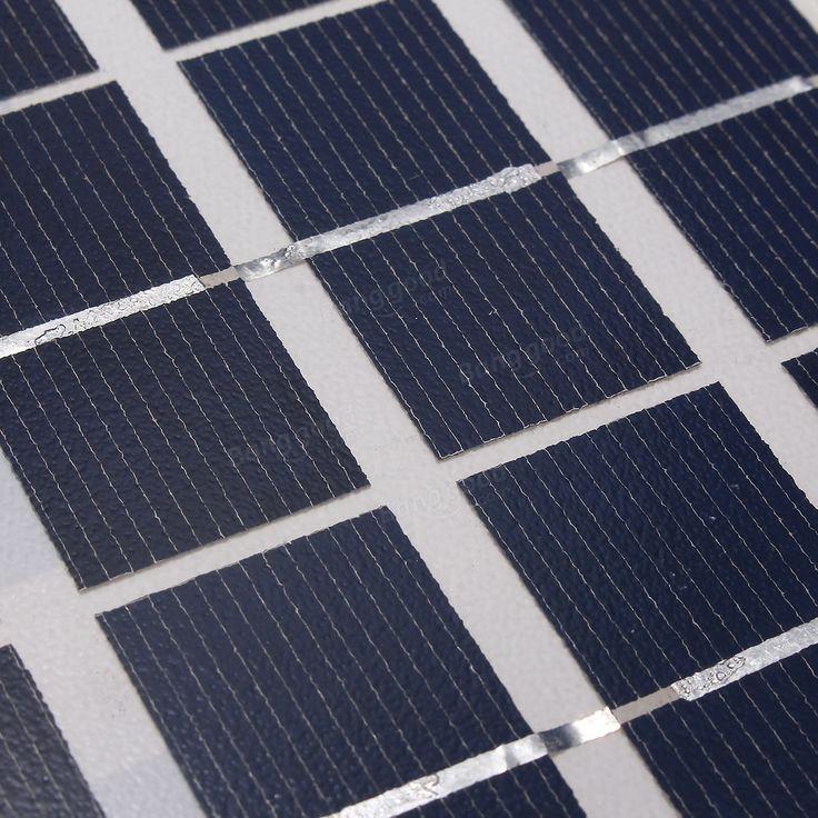 Painel solar policristalino de 5W 18V para a bateria 12V Venda - Banggood.com