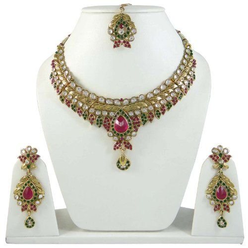 magenta cz verde bollywood Designer tono oro collana tradizionale impostato etnica gioielli indiani Indianbeautifulart http://www.amazon.it/dp/B00JHCXT9G/ref=cm_sw_r_pi_dp_jSTkub0WEWHE9