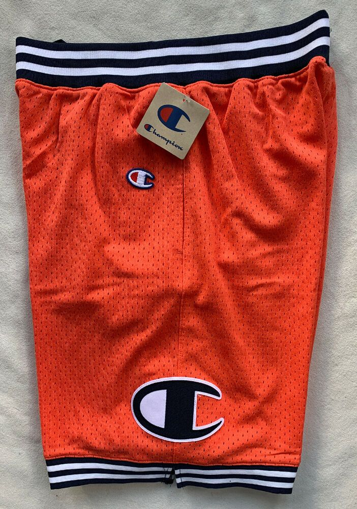 Champion Men/'s Athletic Polyester Mesh Shorts Elastic Waistband with Drawcord
