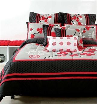 Pillow Talk - Logan & Mason Kyoto 9 Piece Bed Pack