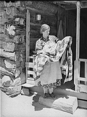 Made from tobacco sacks : In Grandmother's Day | Old-Time Happy Housewifery