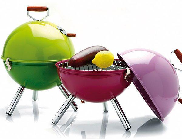#Barbacoas con divertidos colores