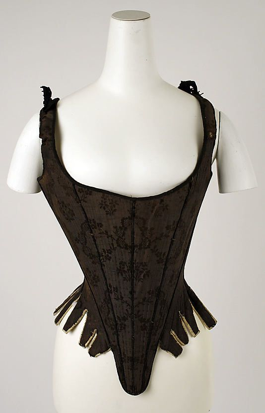Corset  Date: 18th century Culture: American or European