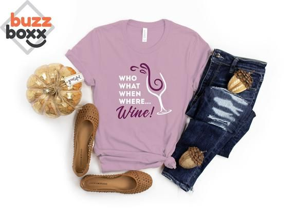 The Good Place Wine Shirt Who What When Where Wine Chidi Wine