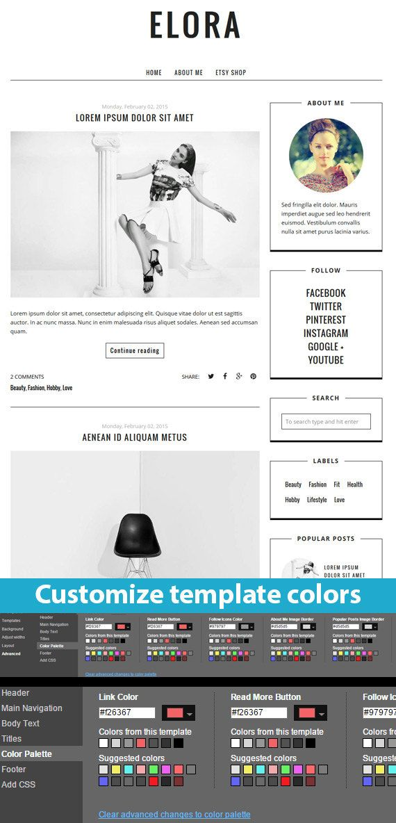 Blogger Template Premade Responsive Blogger by BloggerTemplate