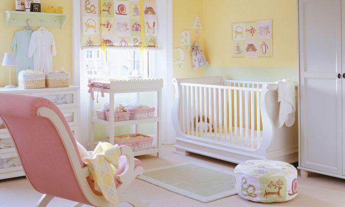 1001 Ideas For Original And Creative Baby Nursery Ideas Yellow Baby Room Baby Nursery Design Baby Room Design