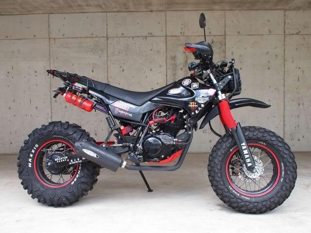 Yamaha TW200 I always wanted to fix one up...