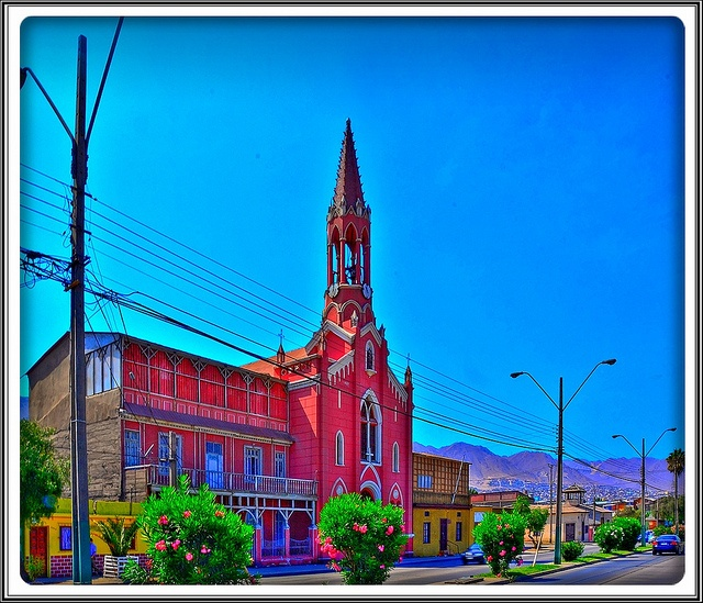 Antofagasta Chile - Iglesia San Francisco