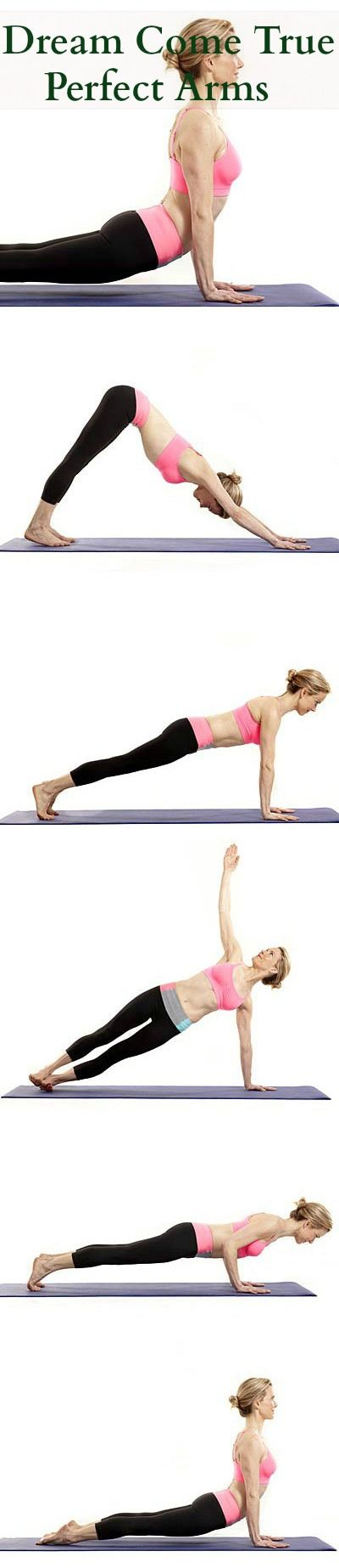 Dream Come True – Perfect Arms, Flat Belly, Toned Thighs and Legs With Yoga by stylecraze #Yoga #Arms #Thighs #Legs #Flat_Belly