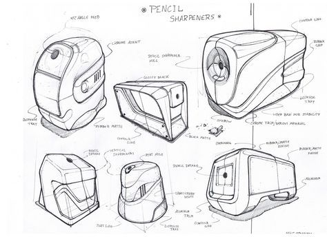 Sketches by Mike Romero at Coroflot.com