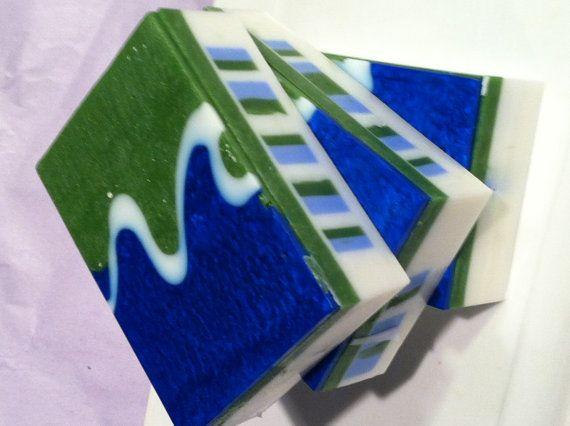 Eucalyptus Mint Bar Soap by RileyvilleSoap on Etsy