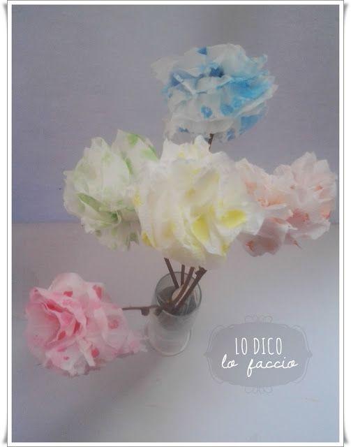 Oltre 25 fantastiche idee su fiori di carta igienica su for Fiori con la p