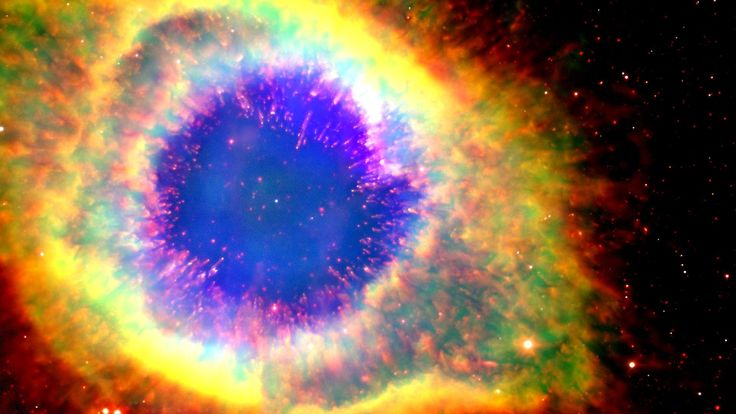 La nébuleuse de l'Hélice ou l'œil de Dieu