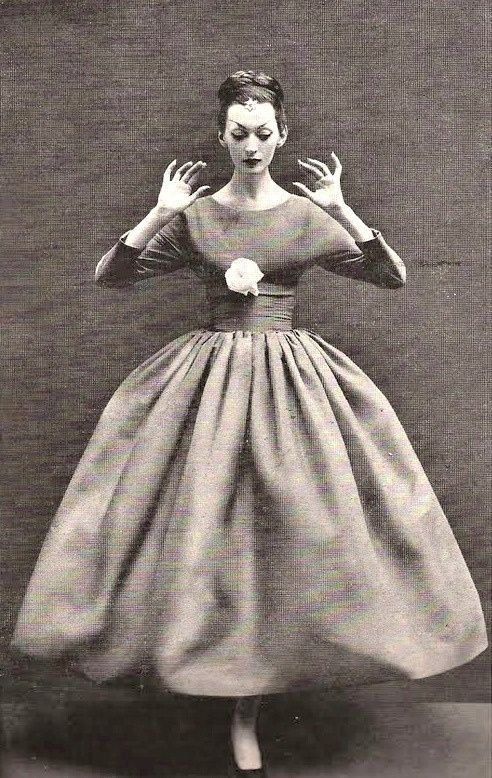Balenciaga Balloon Dress, 1955