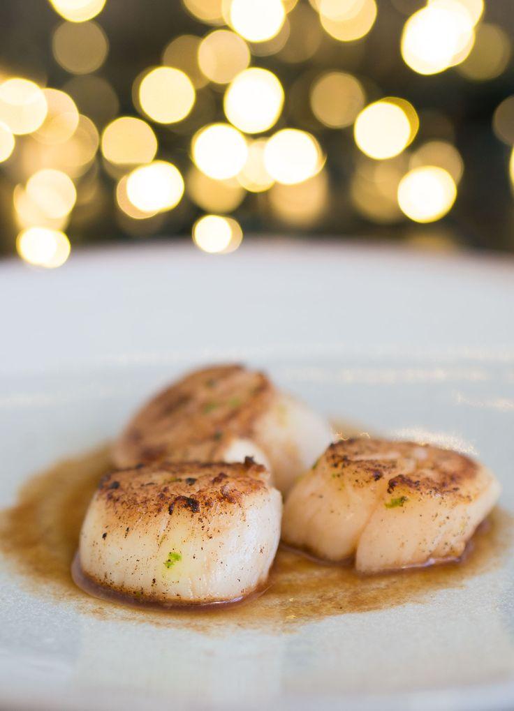 Kerstmenu voorgerecht: coquilles met simpele saus - The answer is food