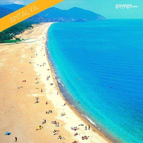 Antalya'nın uçsuz bucaksız plajından herkese günaydın! Sizin tatil planlarınızda da #Antalya var mı? :) www.govego.com/antalya-otobus-bileti  #iyitatiller #antalya #turkey #türkiye #iller #şehirler #tatil #travel #maviyeşil #deniz #doğa #plaj #photo #photooftheday #yaz #yaztatili #summer #manzara #peoples #view #yolculuk #seyahat #seyahatetmek #instagram #morning #huzur #keyif #keşfetsene #today #saturday #cumartesi  #weekend