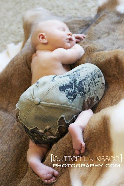 Another camo baby!// my brother's mini me @Marissa Hereso Hereso Hereso belle