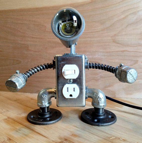 Lámpara robot 2 en 1