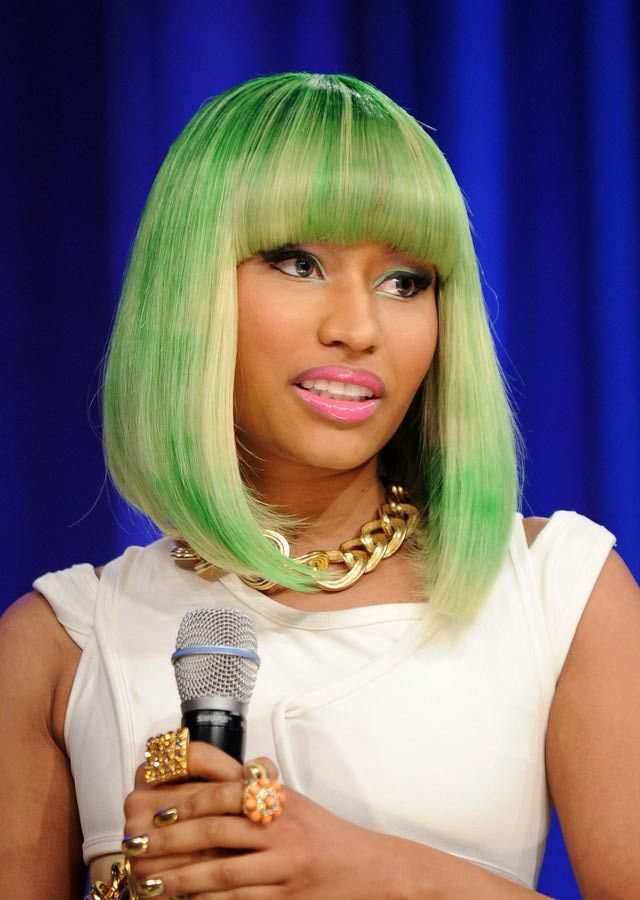 Nicki Minaj Hair Pictures: Plenty of Color!