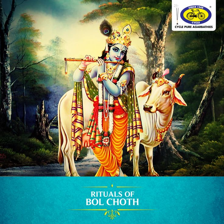 Bol Choth, also known as Bahula Choth is celebrated mainly in the state of Gujarat, this divine festival is observed on the fourth day of Krishna Paksha in the month of Shravan in worship of cows and calves. Most people abstain from drinking milk and perform Krishna puja on this day. Bol Choth is an important day for devotees of Lord Krishna. #PureDevotion