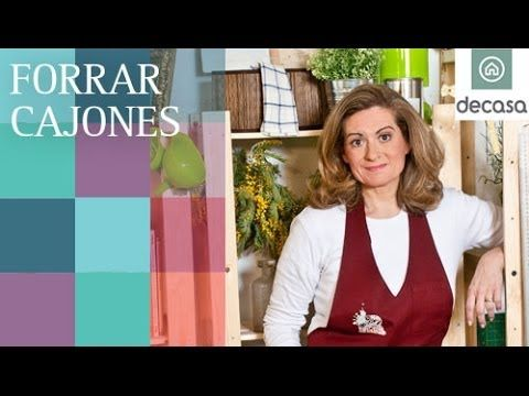 Forrar cajones (Tutorial) | Reciclarte - YouTube