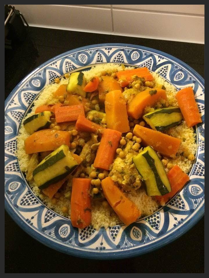 Ellouisa: Couscous met kip en groenten