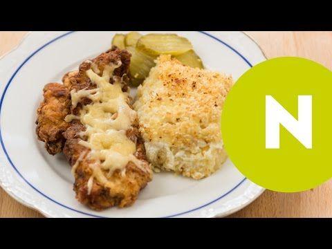 Tejfölben pácolt csirkemell tepsis reszelt krumplival (videó)