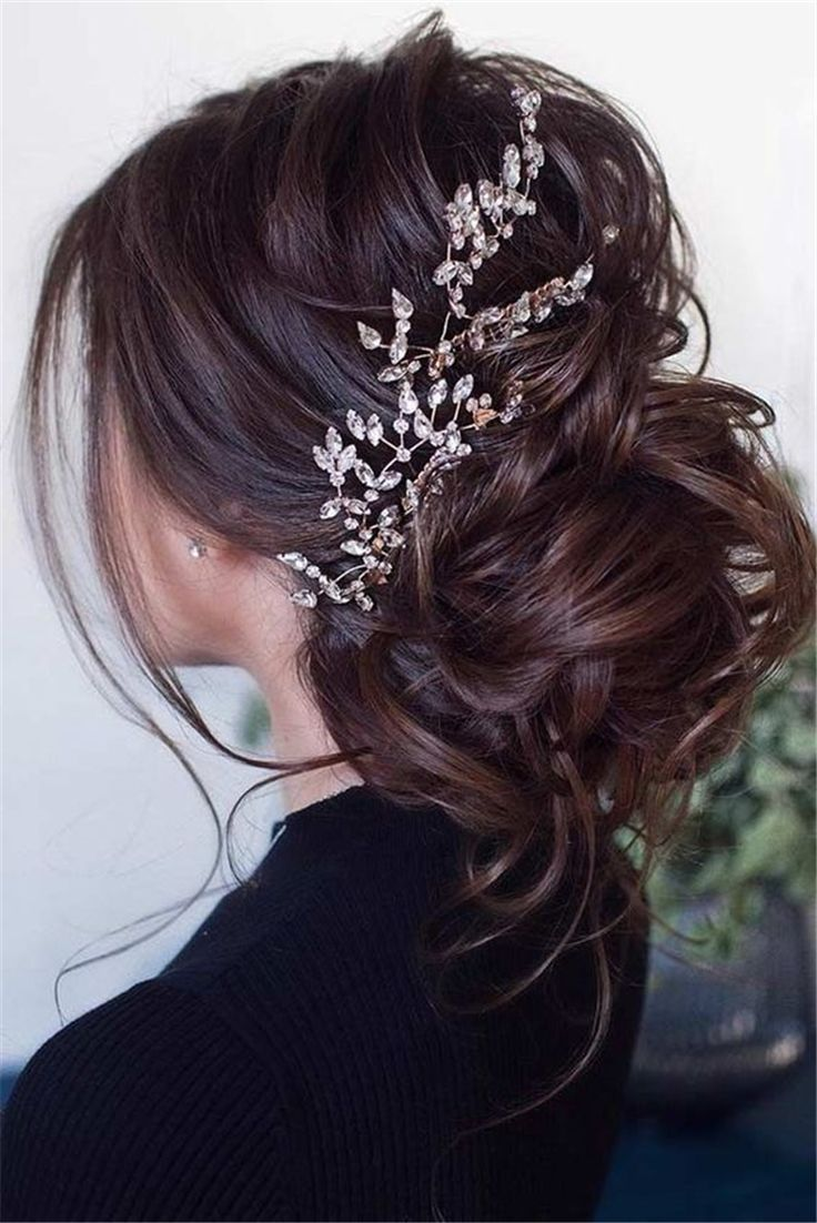 50 Gorgeous And Stunning Wedding Updo Hairstyles For Long Hair – Page 14 of 50 ,  #frisuren #Gorgeous #Hair #hairstyles #Long