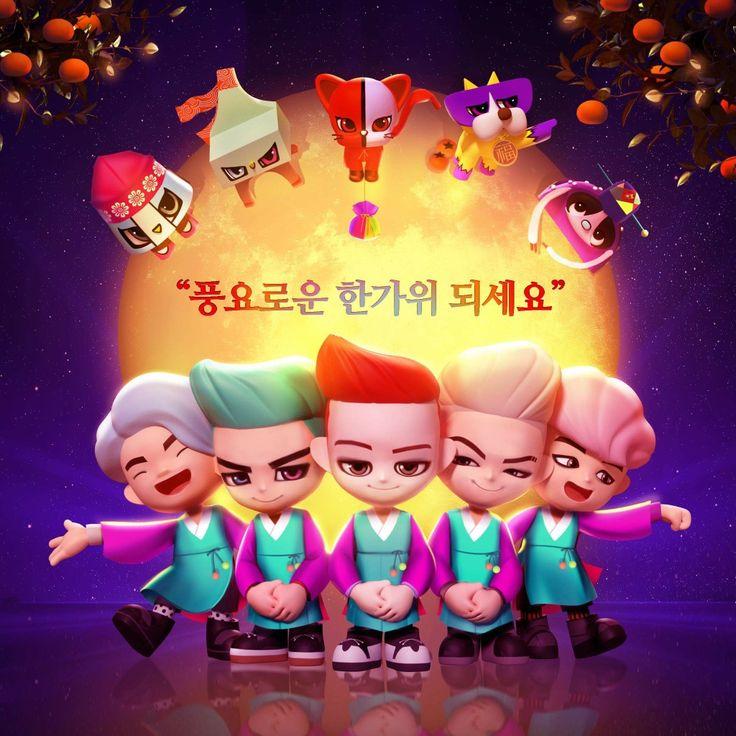모두 즐거운 한가위 되세요! #추석 #한가위 #명절 #대보름 #Chuseok #KoreanThanksgiving #holiday #fullmoon . #Goblings #Bigbang #YG #GD #TOP #Daesung #Taeyang #Seungri #Shu #Chacha #Dru #Bubi #Pai #고블링즈 #빅뱅 #지디 #탑 #대성 #태양 #승리  #슈 #차차 #드루 #부비 #파이  *instagram : www.instagram.com/go_blings
