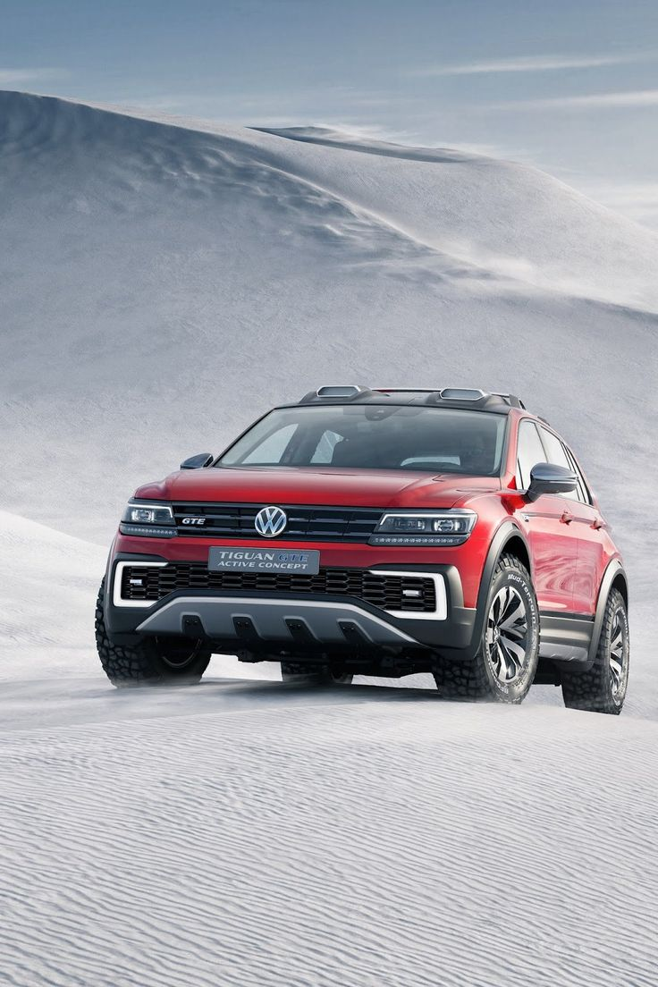 For the enthusiasts that think a regular tiguan gte doesn t suffice volkswagen just