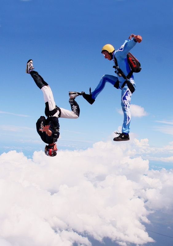 Jump out of a perfectly good airplane - as a passenger, not the pilot.