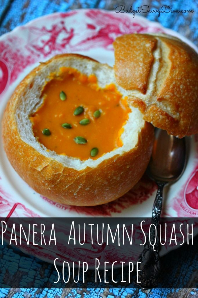 BEST SOUP EVER!!!!! Super Easy To Make and FRUGAL too!! Creamy and Addicting - Make sure to PIN NOW for Later - Panera Autumn Squash Soup Recipe - enjoy
