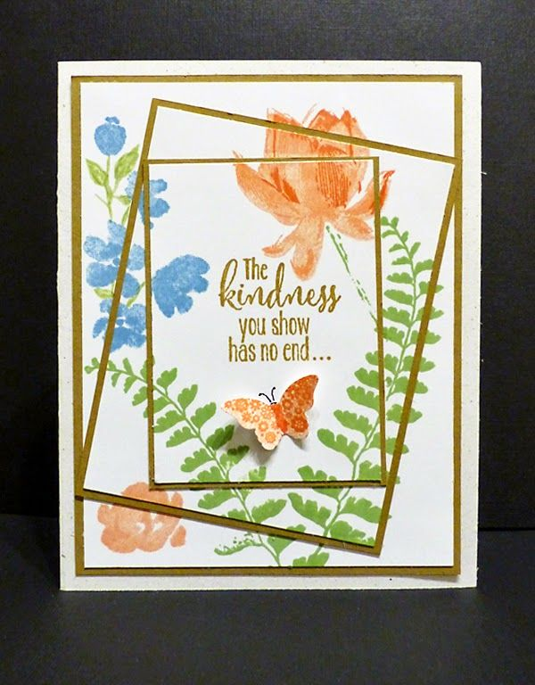Stampin Along With Heidi: The Kindness You Show