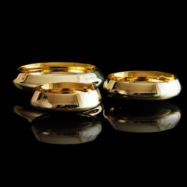 Ballerina brass bowls designed by Claesson Koivisto Rune