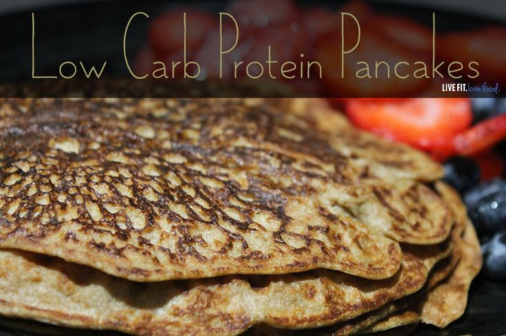 In honor of my 2nd modified protein fast day of the week. Here is a Low Carb, Low Fat Protein Pancake Recipe! These things are my lifesaver.